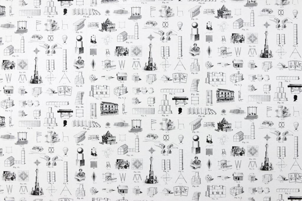 Auréline Froment, Un paysage de dominos, 2011