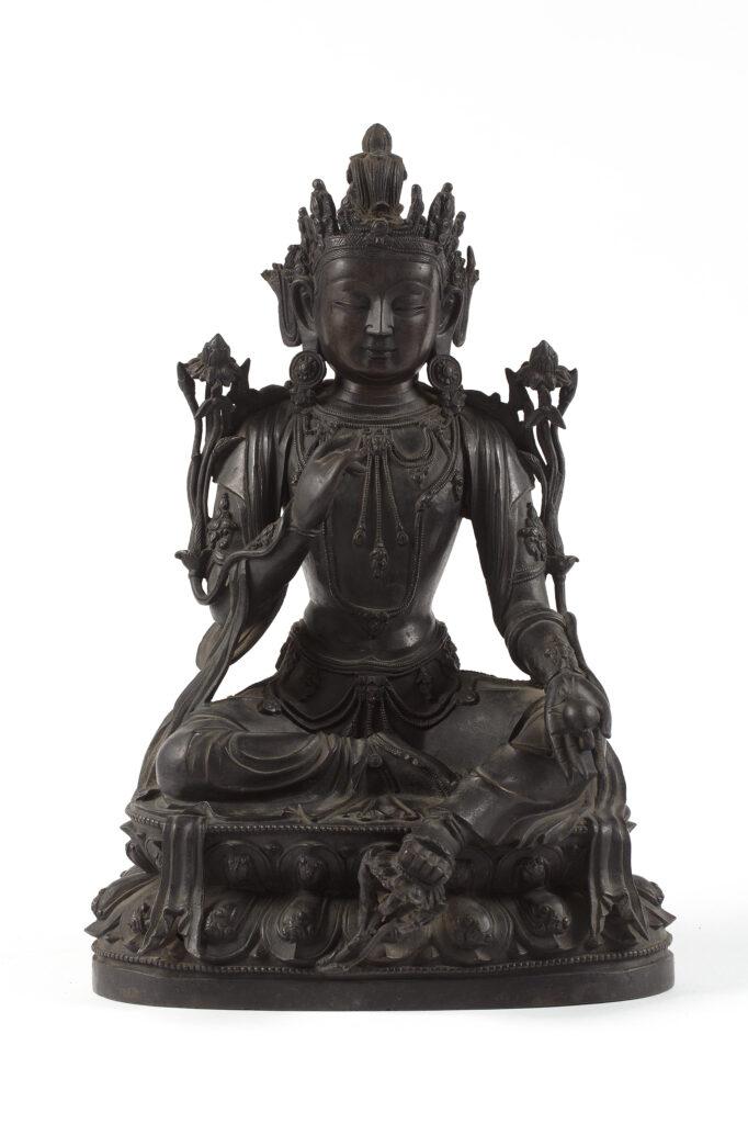 Bodhisattva (Kshitigarbha), XVIIIèmes.-XIXème s
