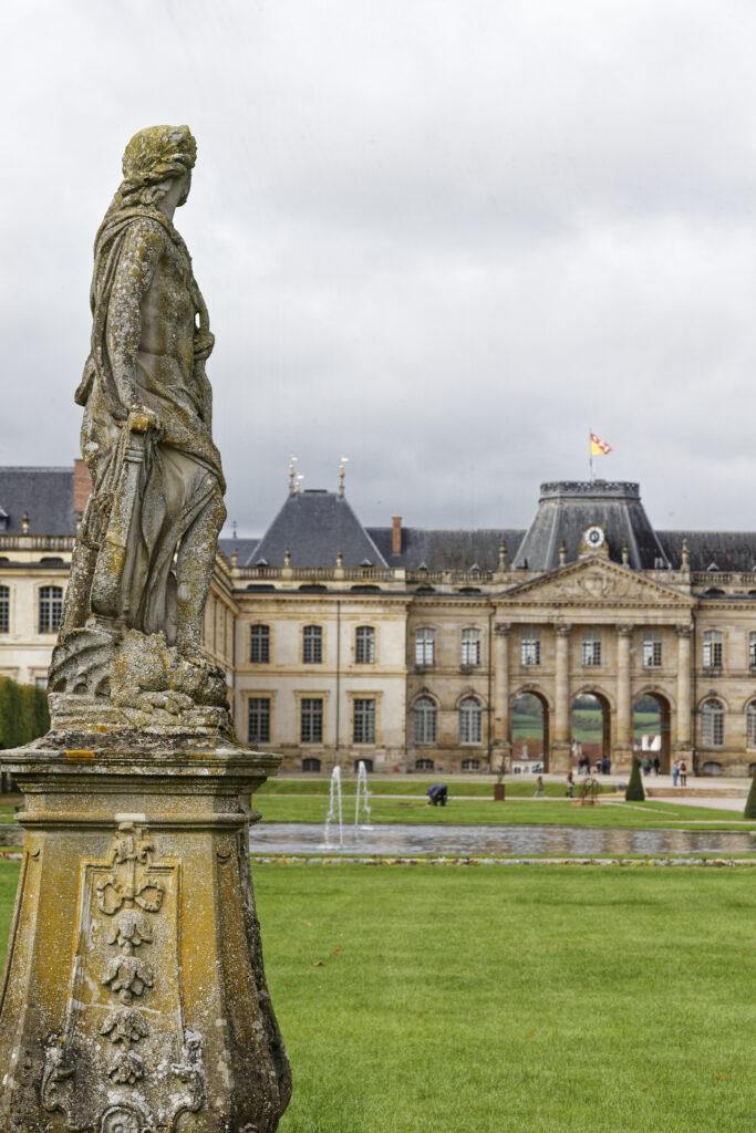 Sculpture du jardin du Château de Lunéville