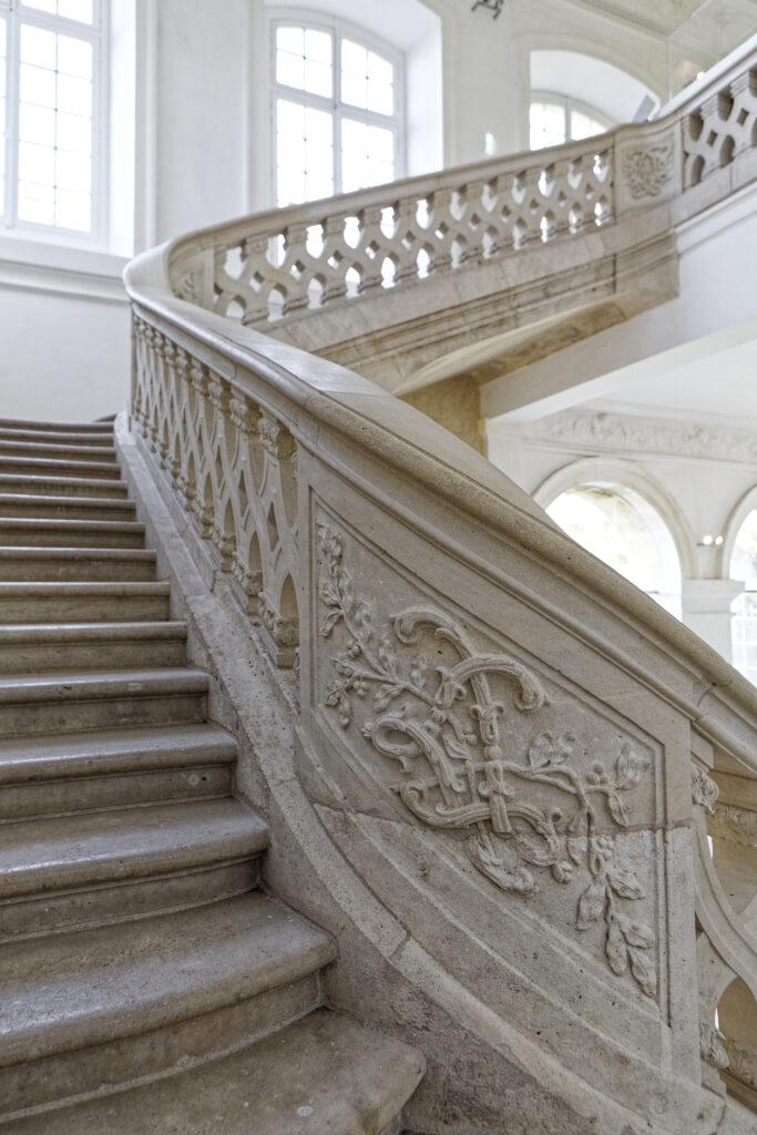 Grand escalier du Château de Lunéville
