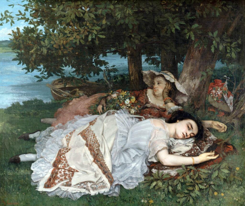 Gustave Courbet, Demoiselles