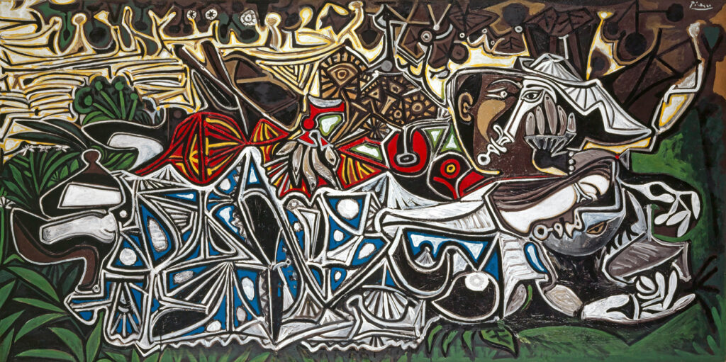 Pablo Picasso, Les demoiselles au bord de la Seine