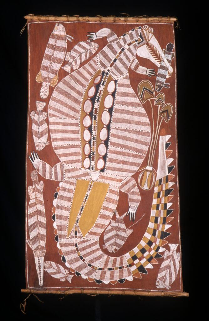 Curly Barradjunka Kinga, Le crocodile légendaire