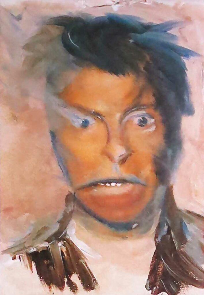 David Bowie, autoportrait
