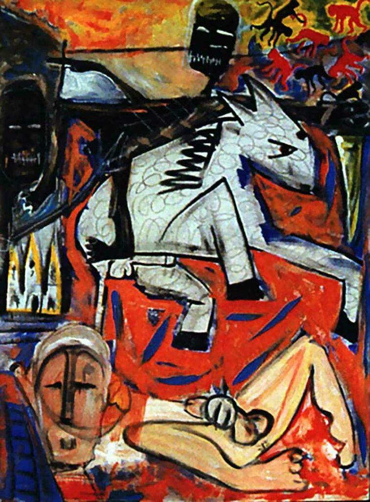 David Bowie, The rape of Bigarschol, 1996