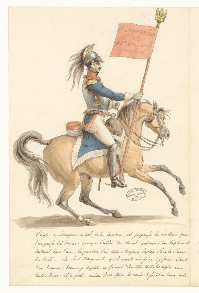 Projet de costume pour le garde-drapeau et pour le porte-étendard (2)
