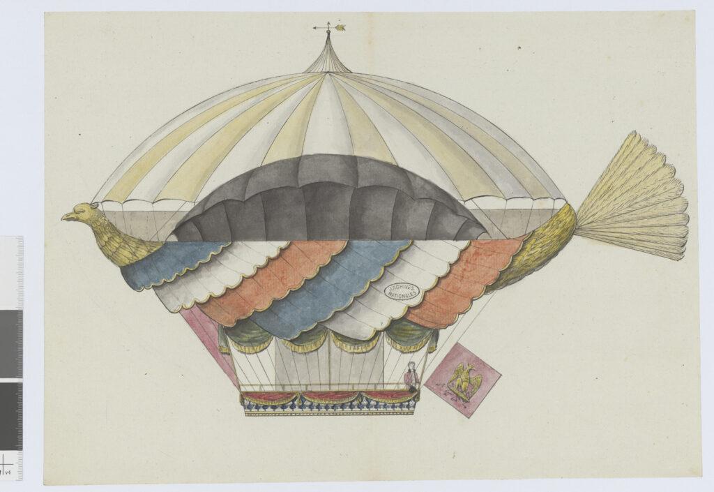 Lelièvre, Projet de machine aérostatique, 1805