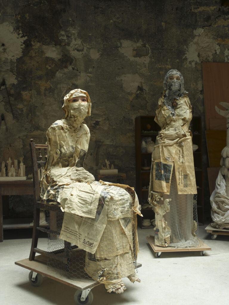 Yvette de la Frémondières, Sculptures