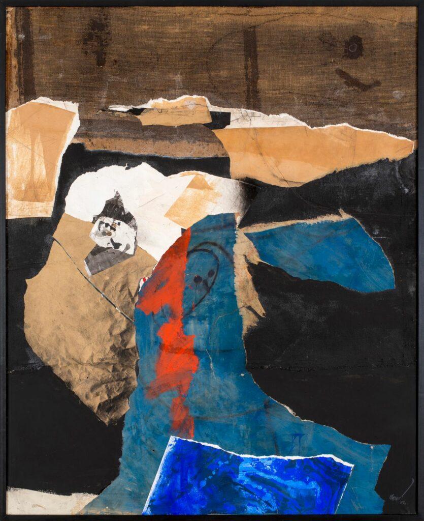 Antoni Clavé, Grand collage, 1983 (6)