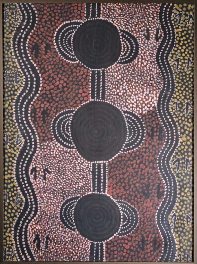 Tim Leura Tjapaltjarri, Le rêve du Wallaby des rochers à Kalalkinka,
