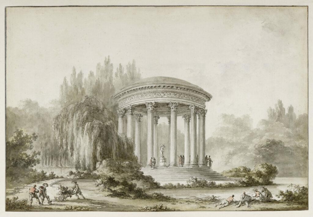 Richard Mique et Claude Louis Châtelet, Album des plans et vues de Trianon aux armes de Marie-Antoinette