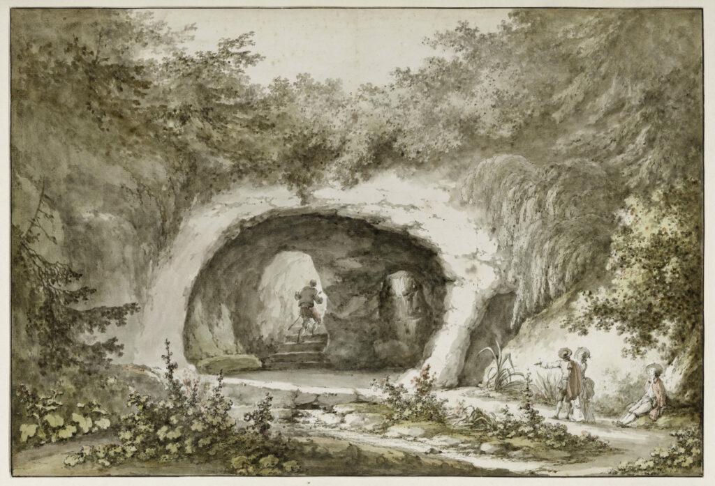 Claude Louis Châtelet, Coupe de la grotte