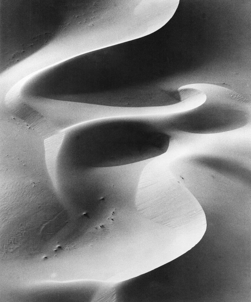Dieuzaide, La Dune du Sahara, 1964