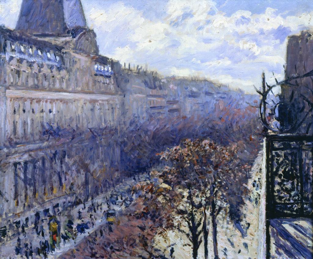 Gustave Caillebotte, Boulevard des Italiens (1880)