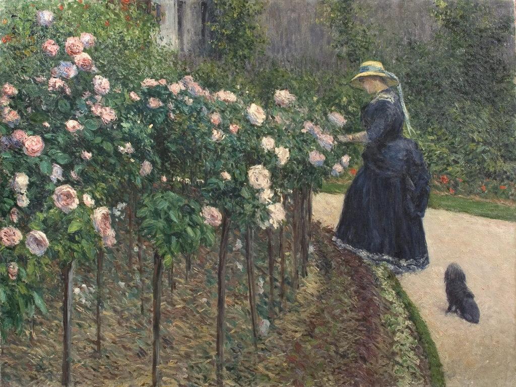 Gustave Caillebotte, Les Roses (1886)