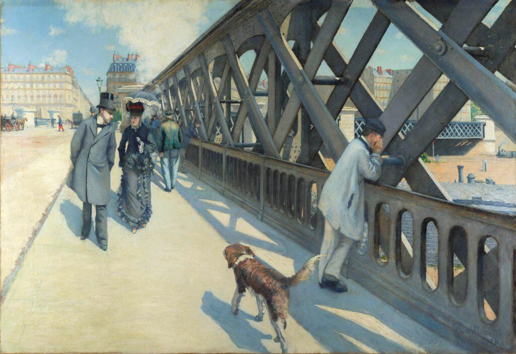 Gustave Caillebotte, Pont de l'Europe (1876)
