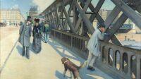 Gustave Caillebotte, Pont de L'Europe, Privatbesitz, Aufnahme nach Restaurierung September 2012