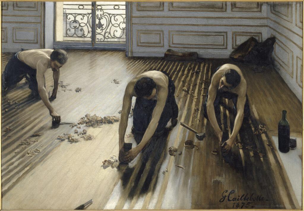 Gustave Caillebotte, Raboteurs de parquet (1875)