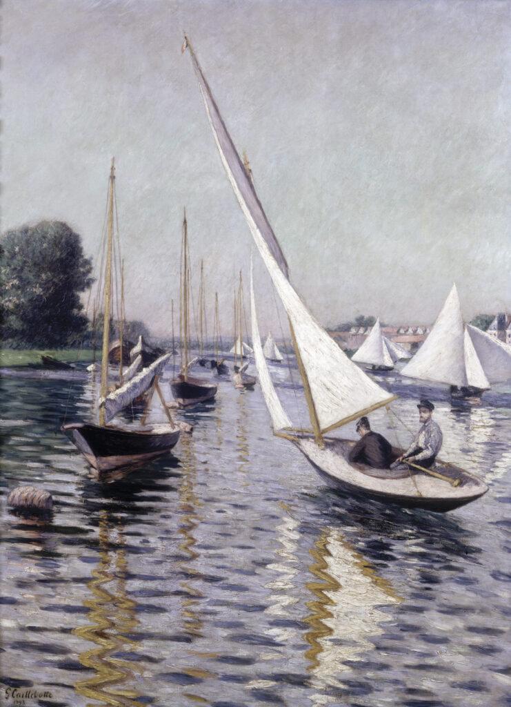 Gustave Caillebotte, Régates a Argenteuil (1893)