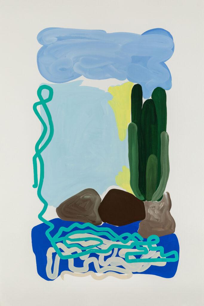 Marielle Paul, Paysage et cactus