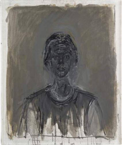 A. Giacometti, Annette noire, 1962