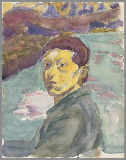 A. Giacometti, Autoportrait