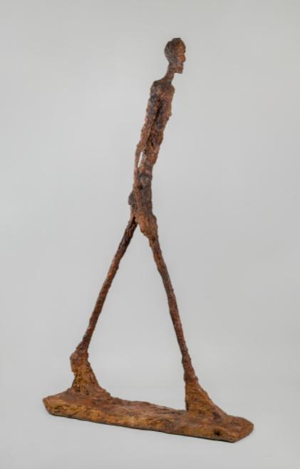 A. Giacometti, L'homme qui marche, 1960
