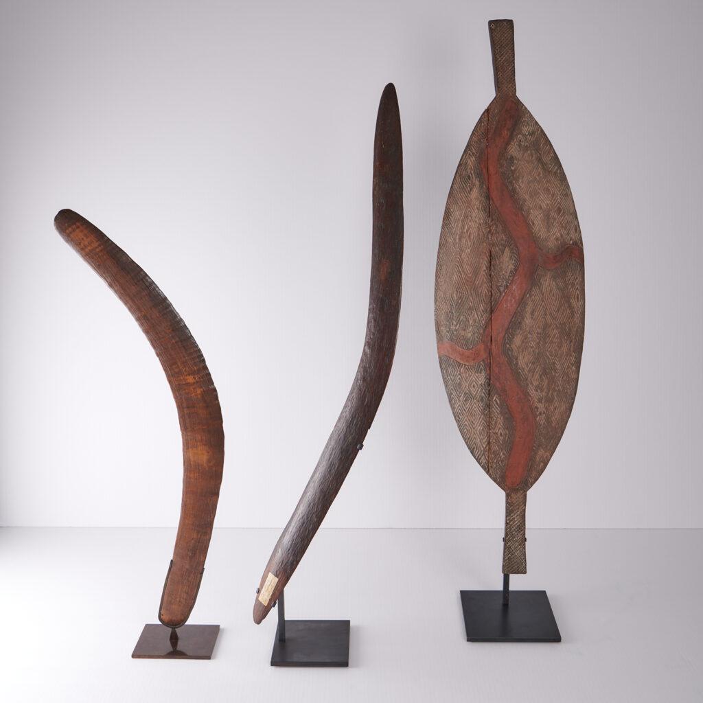 Boucliers et boomerang