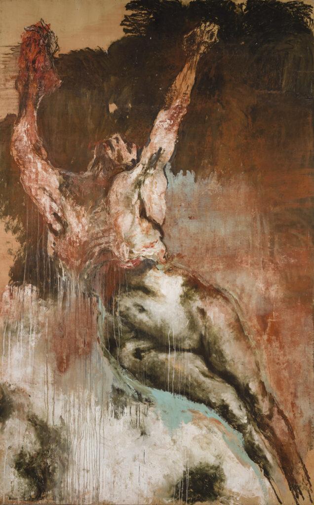 Exposition Lydie Arickx, Abbaye de Flaran, La résurrection