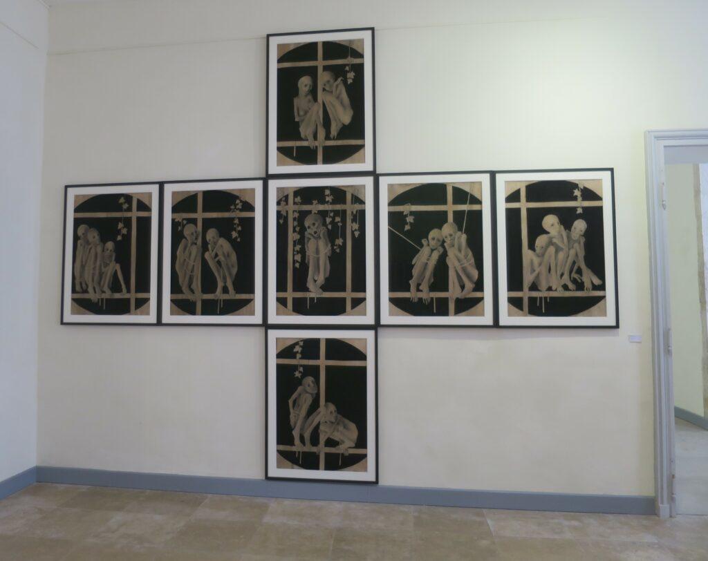 Vue de l'exposition Marc Petit