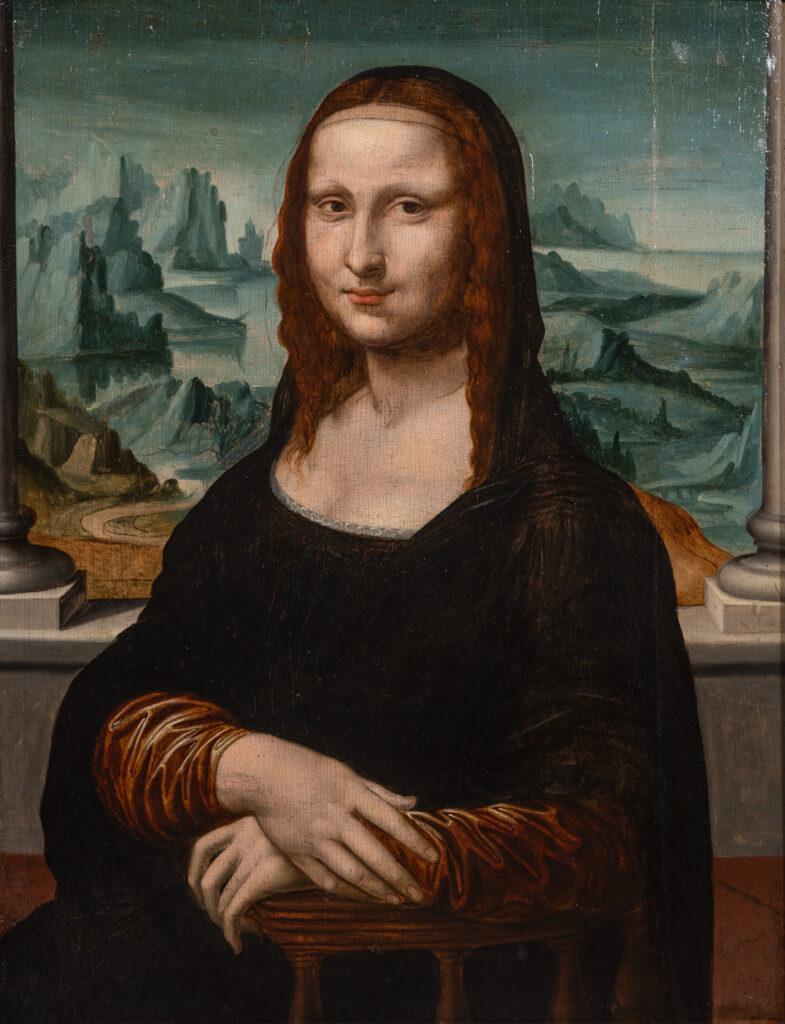 Anonyme, La Joconde (d'après L. de Vinci)