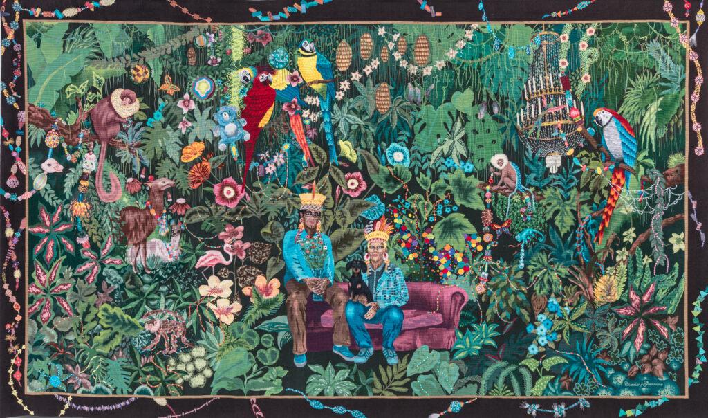 Léo Chiachio et Daniel Giannone, La Famille dans la joyeuse verdure