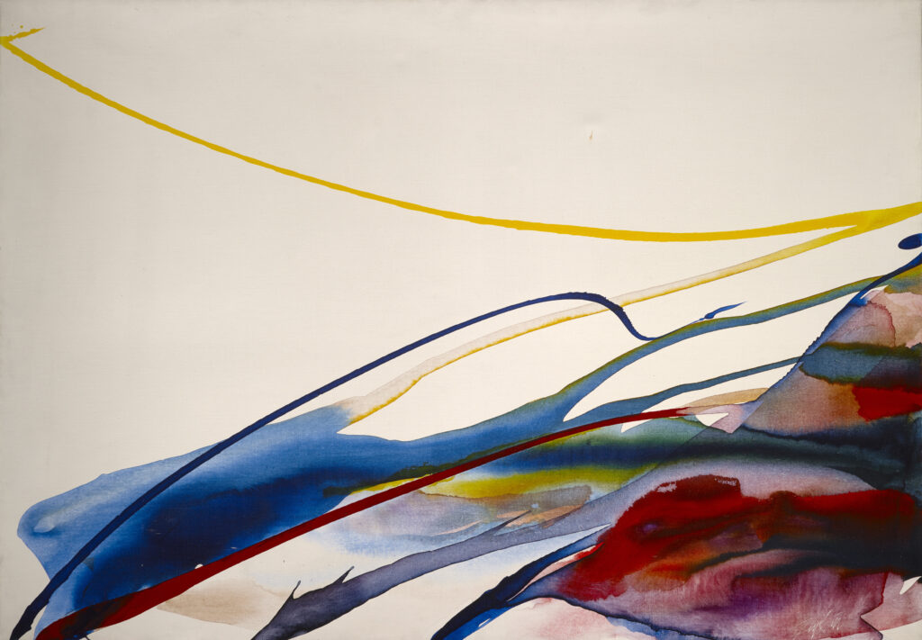 Paul Jenkins, Phenomenon Yellow Ribbon, 1964