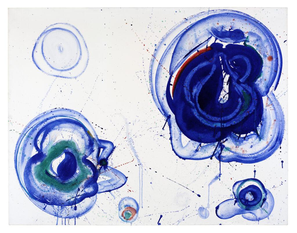 Sam Francis, Blue Balls, vers 1961