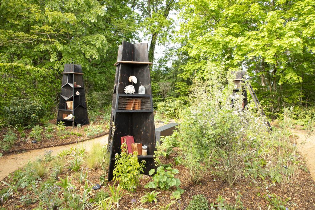 Festival des jardins, Le jardin rayonné