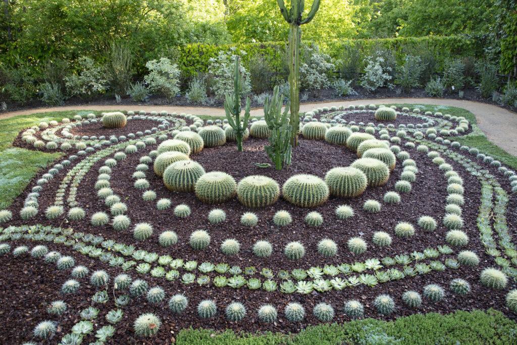 Festival des jardins, Mosaïque mimétique