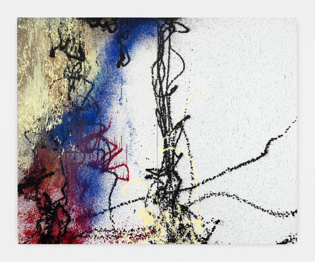 Hans Hartung, T1988-R9, T1988-R10, 1988