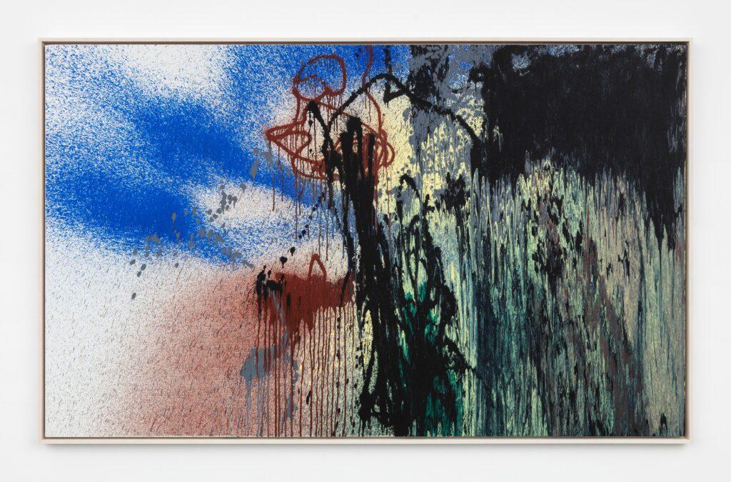 Hans Hartung, T1988-E46, 1988