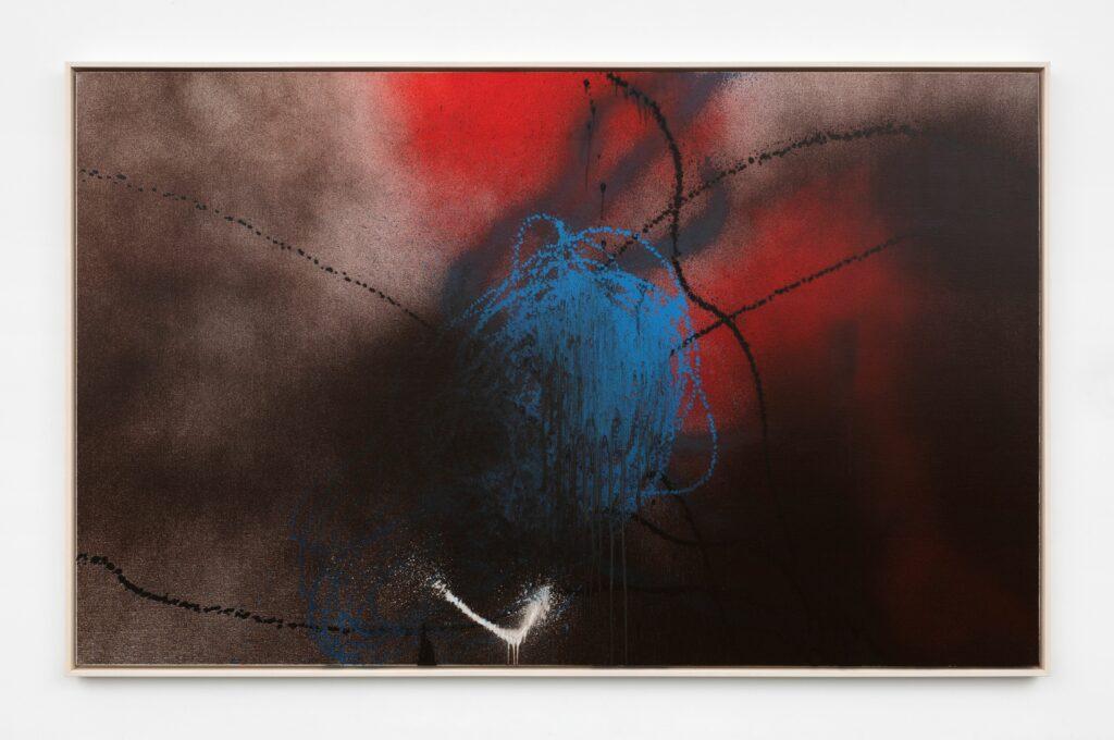 Hans Hartung, T1989-K50, 1989