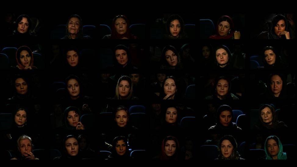 Abbas Kiarostami, Installation Femmes de cinéma