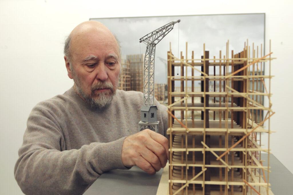 Jean-Marie Châtelier, Philippe De Gobert dans son atelier à Bruxelles, 2021