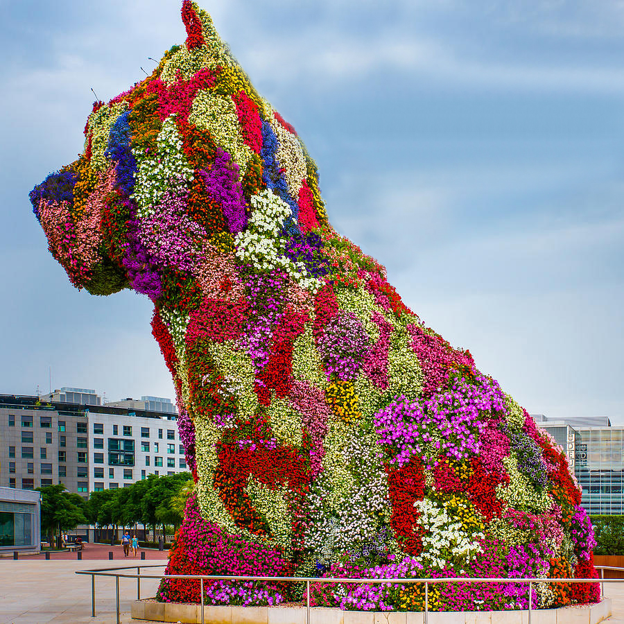 Jeff Koons, Puppy, Bilbao, 1992