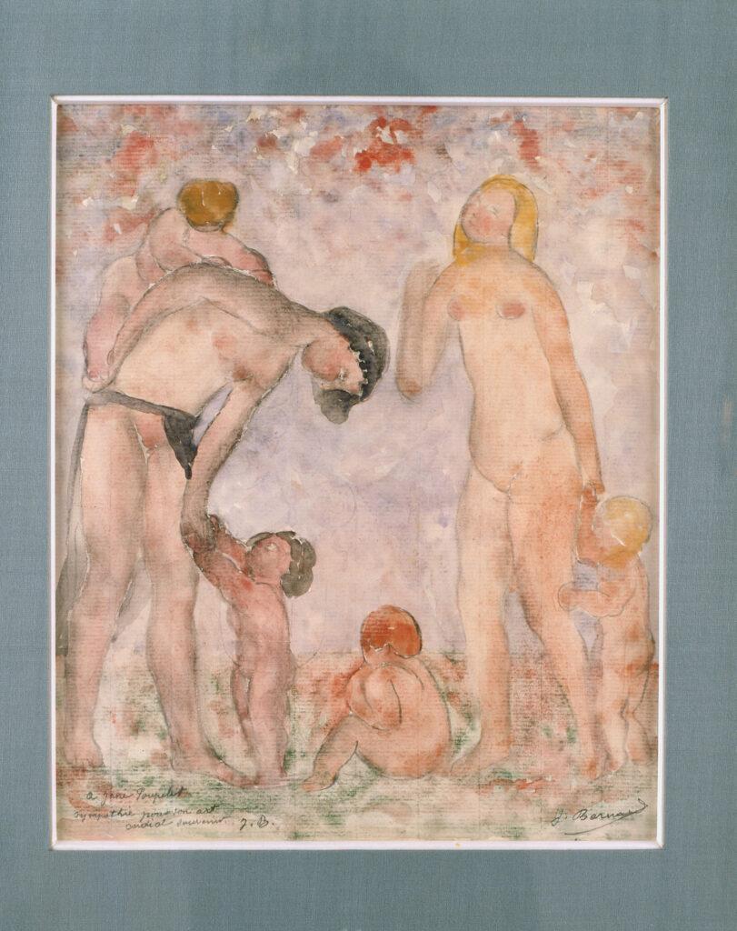 Joseph Bernard, Femmes et enfants