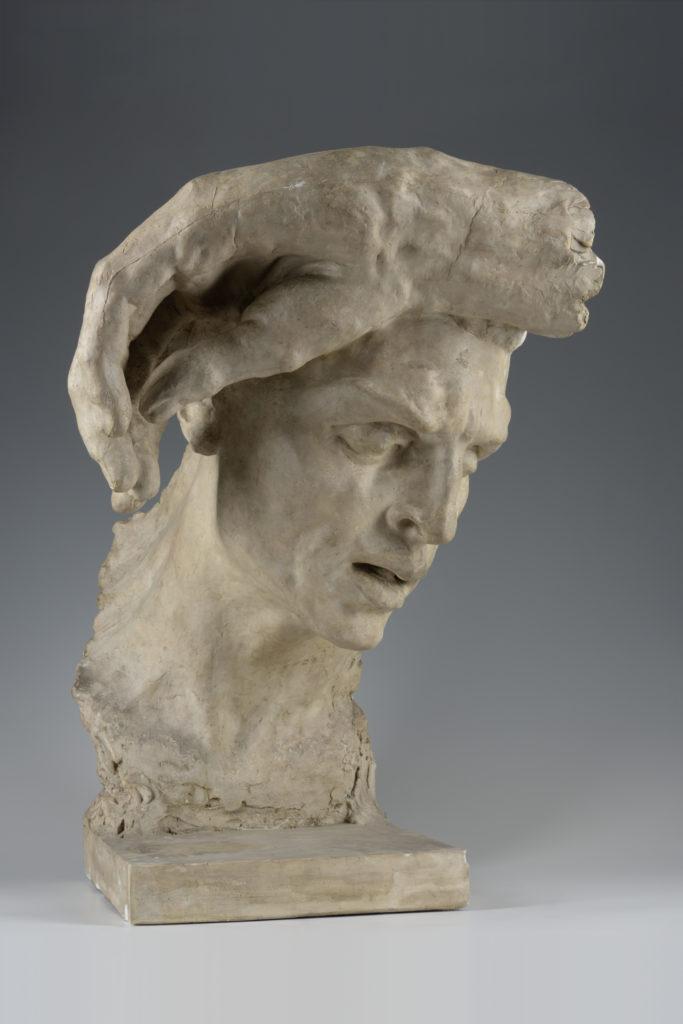 Joseph Bernard, Tête de l'Homme, fragment du Fardeau de la vie, vers 1897