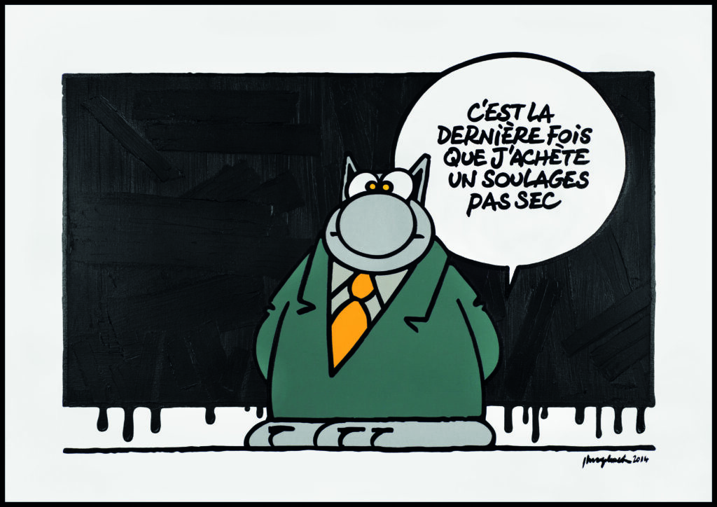Philippe Geluck, Soulages Pas Sec