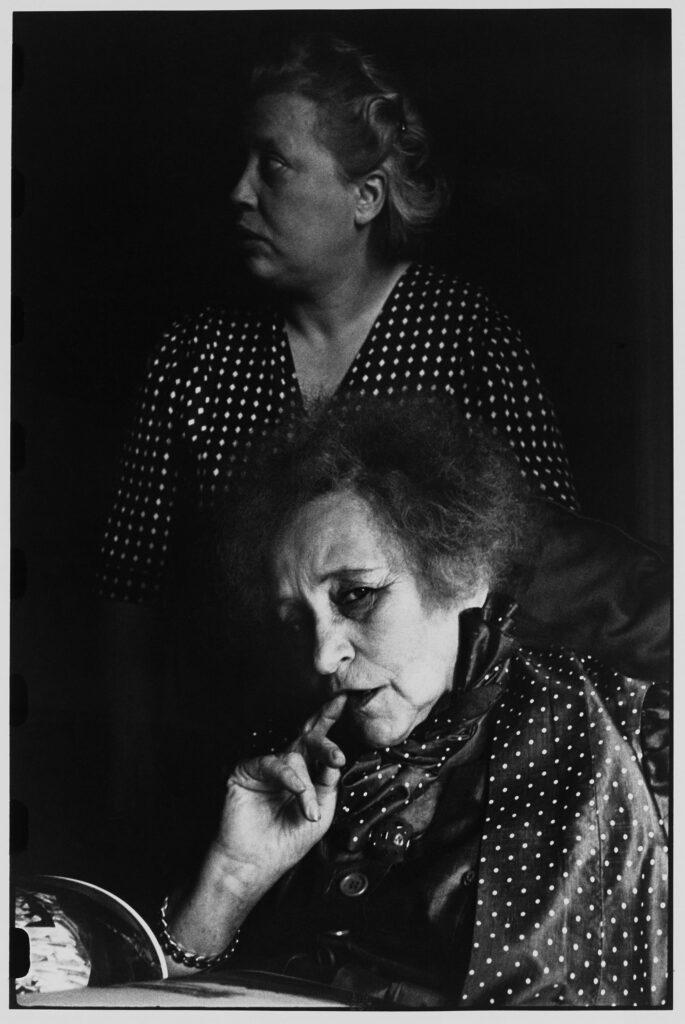 Le Grand Jeu, Henri Cartier-Bresson, Colette, 1952