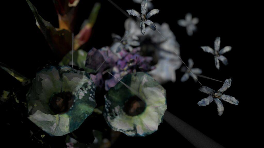 Lauren Moffatt, Of hybrides and strings, 2020 (2)