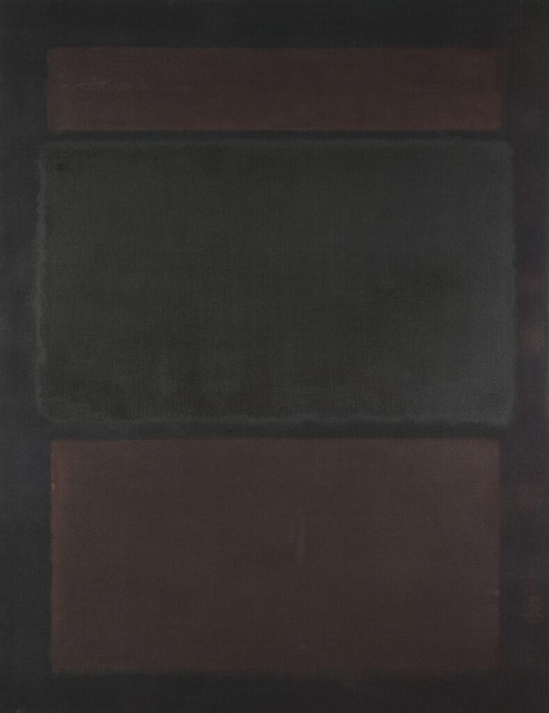 Mark Rothko, N° 14 (Browns over Dark), 1963