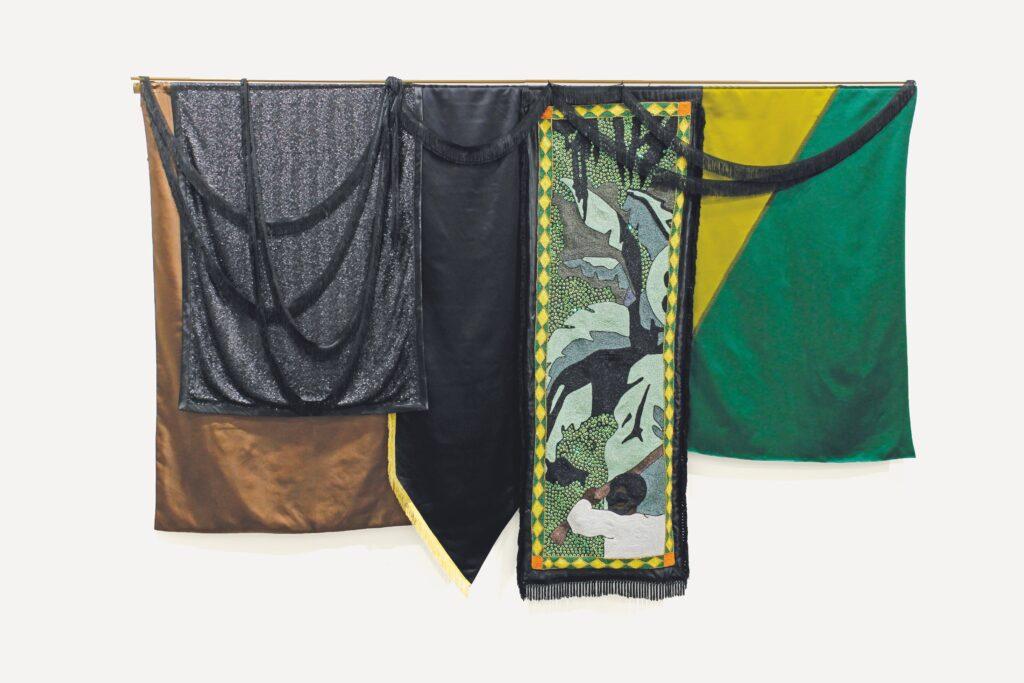 Kapwani Kiwanga, Nations, Snake Gully, 1802 [Nations, La Ravine à couleuvres, 1802], 2018,