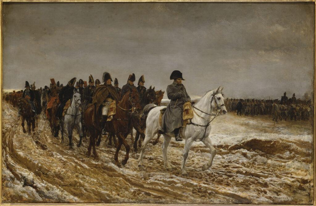 Jean-Louis-Ernest Meissonier, Campagne de France, 1814